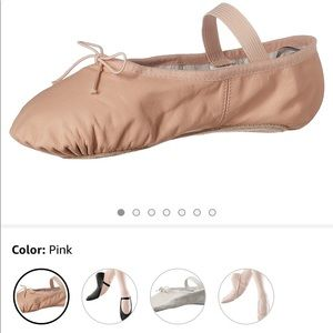 Bloch ballet slippers pink size 3D and 3.5D